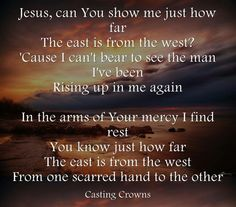 -Casting Crowns: MY ALL TIME FAVORITE SONG!!!