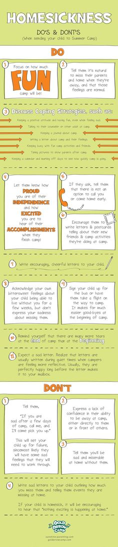 Great tips on dealing with homesickness!