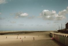 Harry Gruyaert FRANCE. Picardie region. Somme departement. Bay of the Somme river. Fort Mahon. 1991.