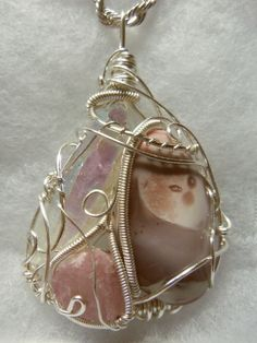 Aura Quartz / Pink Tourmaline / Botswanna Agate Pink Tourmaline, Agate, Quartz, Healing, Christmas Ornaments, Crystals, Holiday Decor, Creative, Crafts