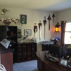 That Man-cave...is strong with dork side. (Album in comments) - Imgur