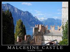Castello di Malcesine Lombardia Lake Garda, Beautiful Places, Europe, Travel, Italia, City, Viajes, Destinations, Traveling