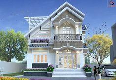 Thiet ke biet thu | thiết kế biệt thự đẹp nhất sài gòn: Mẫu dự án thiết kế nhà đẹp một mặt tiền bán cổ điể...