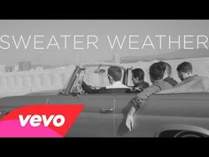 Sweater Weather by The Neighbourhood -- nice track, fun voice + great b/w video of LA