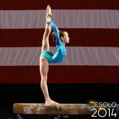 Norah Flatley, stunning!  #gymnastics