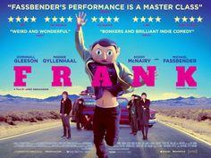 Frank Official UK Poster #FrankFilm @Frank http://www.curzoncinemas.com/frank