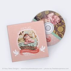cd label + cd case templates for photographers | girl photography, Presentation templates