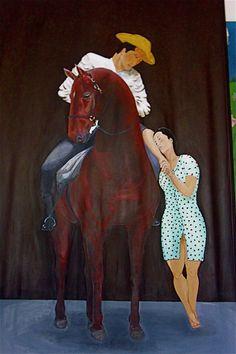 "#""mi linda guajira""#oleo sobre lienzo #oil on canvas@carlosjmaza"