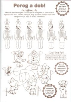 feladatlap Techno, Worksheets, Coloring Pages, Diy And Crafts, Kindergarten, Preschool, March, Projects, Matryoshka Doll