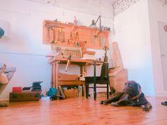 M'atelier in seoul   Hoblice   [desk for puppeter]