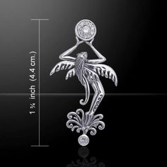 Fairy-Flower-925-Sterling-Silver-Pendant-by-Peter-Stone