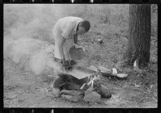 [Untitled photo, possibly related to: American Legion fish fry, Oldham County, Post 39, near Louisville, Kentucky] | Library of Congress
