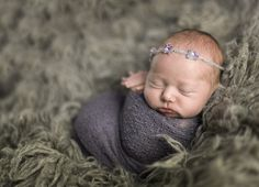 Newborn baby girl wrapped | Jewel Images Bend, Oregon Julia Kelleher Newborn Photographer