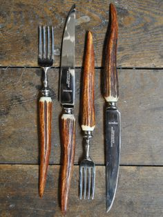 use Vintage Horn mixed with other tarnished flatware...a bit of this and that...poetic wanderlust ~tracy porter via~