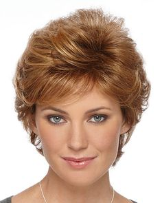 Rebecca Wig by Estetica Designs - Short Shag - The HeadShop Wigs Short Layered Haircuts, Short Hair Cuts, Short Hair Styles, Pixie Cuts, Wavy Pixie, Pixie Styles, Long Pixie, Cool Braid Hairstyles, Short Hairstyles For Women