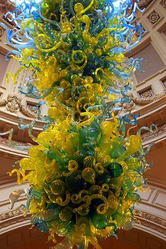 Dale Chihuly piece in V by Pretty Sparkly Things