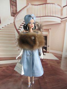 OOAK Vintage Barbie/Silkstone Fashion by Ann- Sixties in Silk