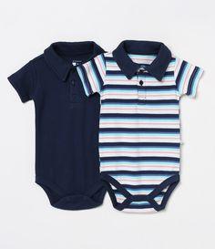 e61d22d3d1 Kit com 2 Bodies Infantis - Tam 0 a 18 meses - Lojas Renner