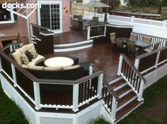 This is what the front porch will look like, once we get to it! The Paint and stain