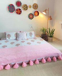 Room Ideas Bedroom, Home Decor Bedroom, Diy Room Decor, Living Room Decor, Indian Room Decor, Indian Bedroom, India Home Decor, Ethnic Home Decor, Indian Home Design