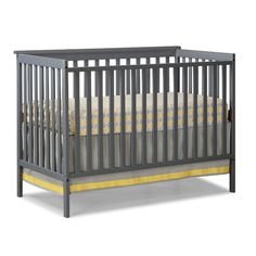 The Storkcraft Sheffield 2-in-1 Convertible Crib combines a timeless design in a very affordable package. This crib features a static side design for stability. The clean and simple lines make this crib a perfect fit into any nursery.