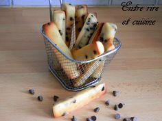 Fingers au yaourt à la grecque et pépites de chocolat