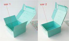 Разные разности: МК коробочки с фиксирующейся крышкой.