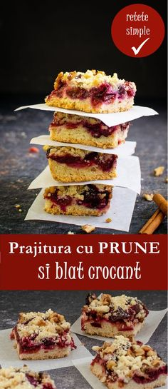 Romanian Desserts, Romanian Food, Romanian Recipes, Cookie Recipes, Dessert Recipes, Sweet Cakes, Sugar And Spice, Cake Cookies, Sweet Treats
