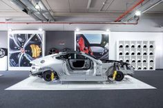 Jaguar F-Type coupe cutaway at Wallpaper