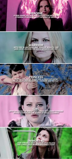 perhaps she will be the one you follow into battle. #ouat