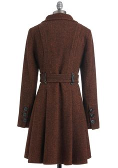 Brownstone Boulevard Coat   Mod Retro Vintage Coats   ModCloth.com