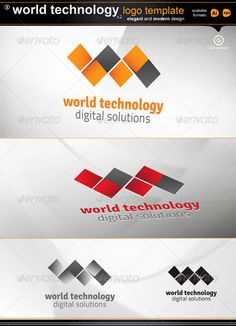 World Technology v2 — Vector EPS #ilustrator #integration • Available here → https://graphicriver.net/item/world-technology-v2/2165698?ref=pxcr
