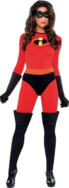 adult mrs incredible costume the incredibles party city - Happy Halloween Costume