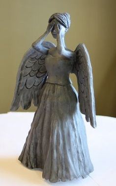 Geekify Your Christmas Tree with This Dr. Who 'Weeping Angel' Tree Topper « Christmas Ideas :: WonderHowTo Spray Paint Plastic, Painting Plastic, Angel Christmas Tree Topper, Christmas Angels, Old Barbie Dolls, Clay Angel, Doctor Who Christmas, Star Wars Crafts, Christmas Hacks