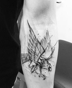 Eagles Tattoos with Amazing Designs and their Great Meaning - . - Eagles Tattoos with Amazing Designs and their Great Meaning – - Tribal Sleeve Tattoos, Best Sleeve Tattoos, Sleeve Tattoos For Women, P Tattoo, Calf Tattoo, Eagle Tattoos, New Tattoos, Phenix Tattoo, Adler Tattoo