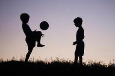 Silhouette Soccer Dreams | Frosted Productions Photography Blog