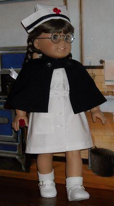 Nurse Molly 1 by Sugarloaf Doll Clothes, via Flickr