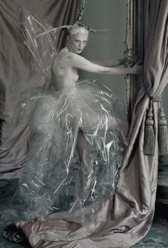 The Lion King' Karen Elson photographed by Tim Walker for Love Magazine Autumn/Winter 2013