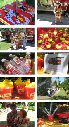 Yes, seems official - decided to wait for a birthday lego party til Ezra is a little older. Local firehouse birthday party it will be! This is going to be so much fun to plan! Fireman Party, Firefighter Birthday, Fireman Sam, 3rd Birthday Parties, Boy Birthday, Birthday Ideas, Fireman Baby Showers, Easter Party, Childrens Party