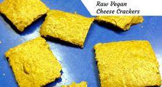 Best-Tasting Raw Vegan Cheese Crackers Recipe