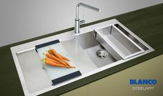 With three major design awards to its name, the iF concept, first introduced on the BLANCOCLARON, now extends to 20 options, all featuring a sleek, flat FinoTop® rim, giving IF sinks the appearance of being flush-mounted into the worktop.