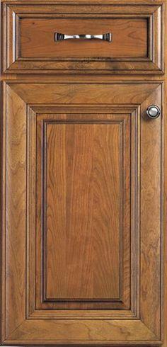 Door Styles: Cherry Springdale - Visit Showroom in Columbus Ohio - Kitchen Kraft Inc, Kitchen Cabinets Remodeling. - Door Style : Springdale  Door Type : Mitered  Finish : Mocha, Sable  Drawer : Paneled  Material : Cherry