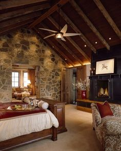 Rustic bedroom in Telluride, CO http://media-cache2.pinterest.com/upload/84583299221664795_thR2RNDv_f.jpg karencitah rustic