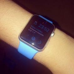 Watch im Langzeittest! Siehe MapsOffice Test Fazit!#AppleWatch#Cool#style#fashion#design#blue#band#aluminum#watch#beste#deutsch#hey#like#youtube#youtuber#like#kik#fitness#move#bewegungsziel by swaag_on_tobi