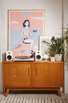 Tallulah Fontaine Beach Gal Art Print
