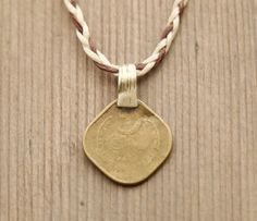 Gypsy Coin Necklace Gypsy Coin Pendant by theprophetsbazaar