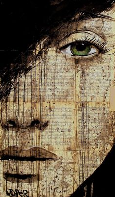 "Saatchi Art Artist Loui Jover; Drawing, ""polonaise"" #art Love this!"