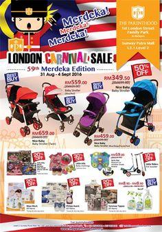 31 Aug-4 Sep 2016: The Parenthood London Carnival Sale