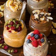 Overnight Oats 5 Ways | Cooking Classy