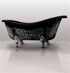 So doing this to my tub!
